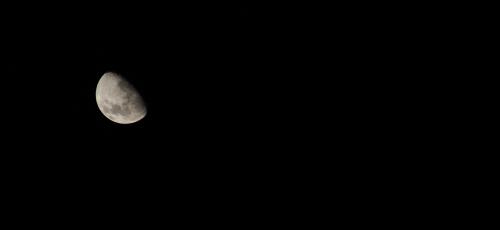 Nacht mit Mond