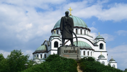 Kirche Sava in Belgrad