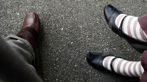 Socken bei Frau & Mann