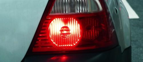 Rotes Rücklicht