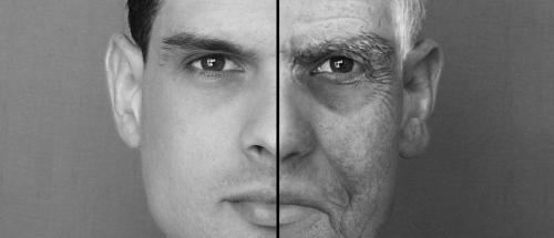Junger und alter Mann