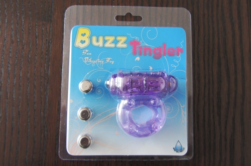 "Penisring Vibrierend ""Buzz Tingler"", Verpackung"