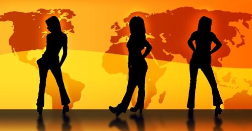 Sex mit Frauen, Weltweit
