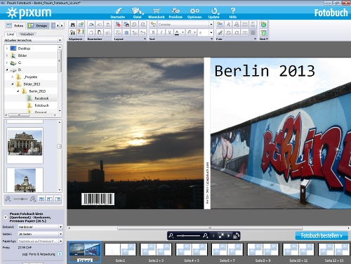 Pixum Fotobuch Berlin 2013