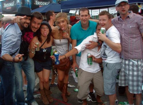 Streetparade / Besoffene & dumme Leute